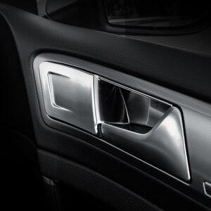 Image 3 - 4pcs ABS 자동차 인테리어 도어 핸들 커버 도어 보 울 스티커 장식 폭스 바겐 폭스 바겐 골프 7 7.5 MK7 MK7.5 LHD 2013   2019