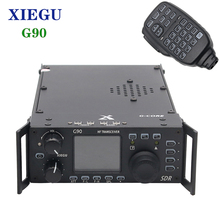 Xiegu G90 20W QRP SSB/CW/AM/FM 0,5 30MHz SDR Radio transceptor HF Detach Display construido en el sintonizador de antena