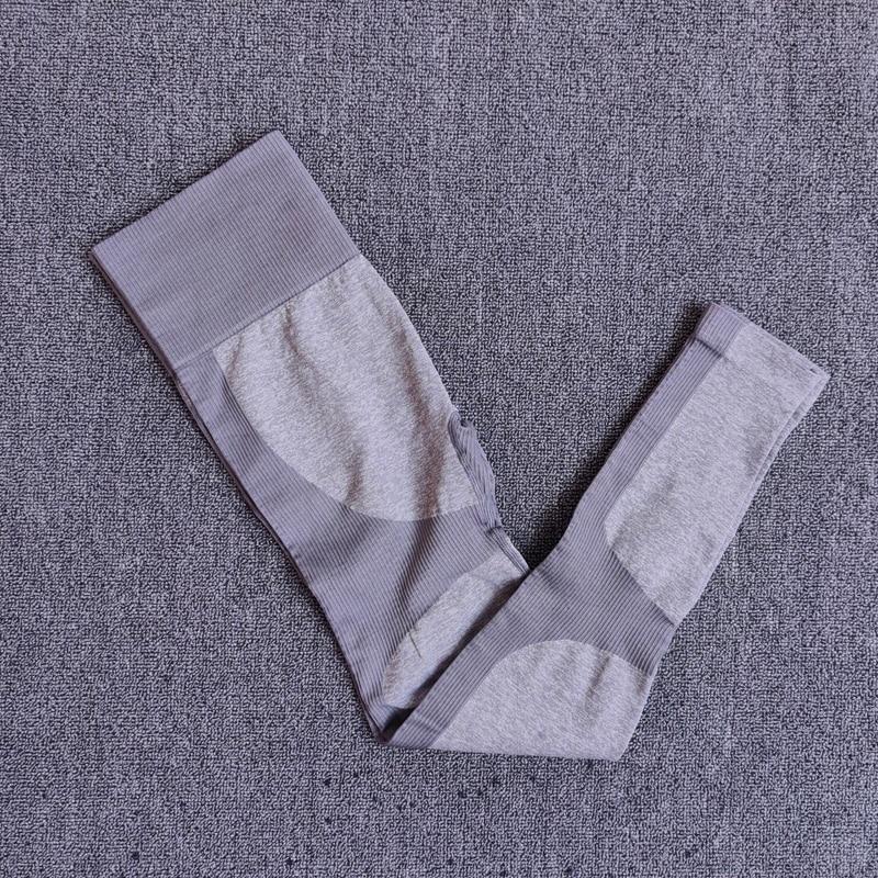 PantsGray - 11 colors seamless yoga suit