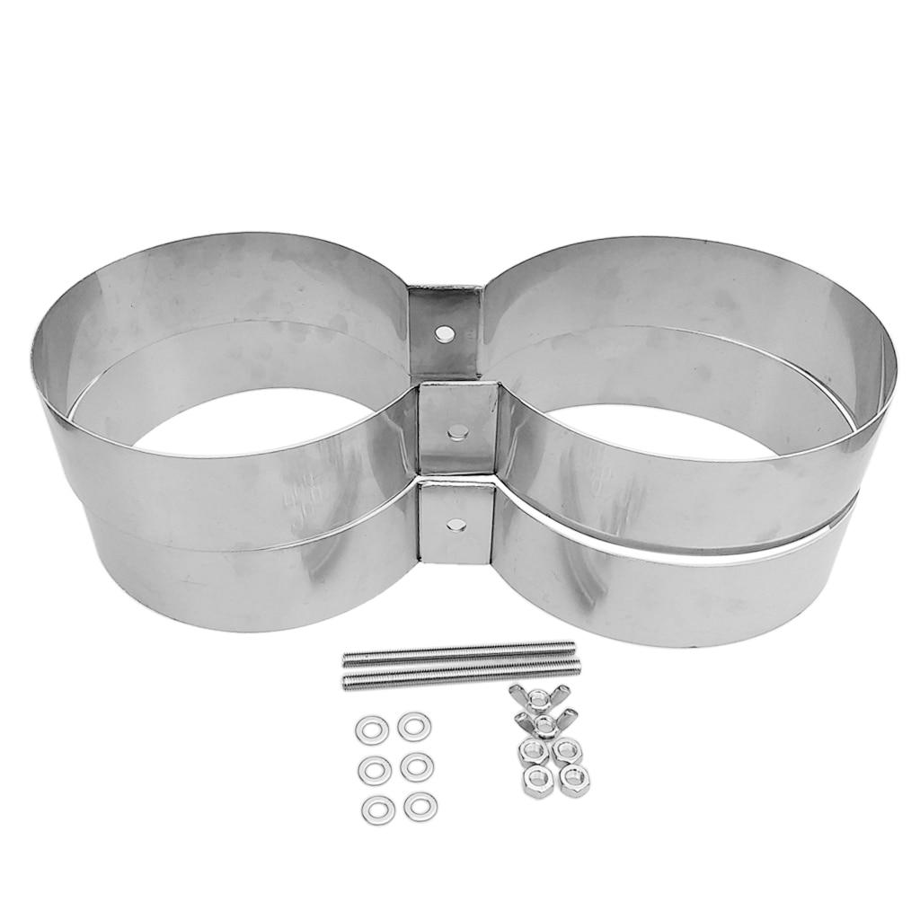 Bandes de montage/connecteur/retenue de réservoir de Double cylindre de plongée de technologie de plongée d'acier inoxydable - 2