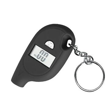 Mini Keychain style Tire Gauge Digital LCD display Car Tyre Air Pressure tester meter Car Auto Motorcycle tire Safety alarm digital car truck air tire pressure inflator gauge lcd display dial meter vehicle tester tyre inflation gun monitoring tool