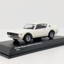 Kyosho 1:64 Nissan Skyline 2000 GTR (KPGC110) Weiß Diecast Modell Auto
