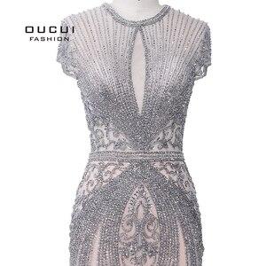 Image 5 - OUCUI zarif resmi gece elbisesi 2020 parti kıyafeti kadınlar için uzun Robe De Soiree Vestidos De Fiesta De Noche Sukienka wieczorowa