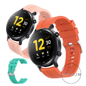 Image 3 - Realme Watch S Strap Silicone Wristband realme s pro band Sports Band Bracelet Replacement Band