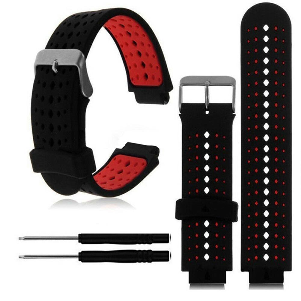 Silicone Kids Watches Wrist Watch Band Strap For  Forerunner 220 230 235 620 630 735 детские часы Relogio Infantil