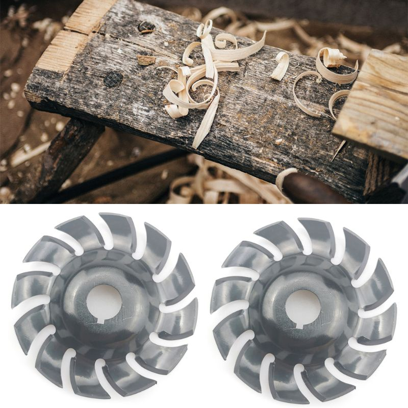 Electric Angle Grinder Shaping Blade Wood Carving Disc Grinder Bore Cutting Woodworking Tool Saw Blade Tea Tray Cutter