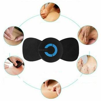 6 Modes Adjustable Mini Electric Neck Massager Cervical Muscle Massager Stimulator Back Neck Relaxing Exerciser Massage Brace