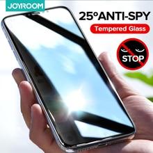Joyroom الزجاج المقسى الخصوصية حامي الشاشة آيفون 12 11 برو ماكس X XS ماكس XR مصغرة مكافحة التجسس فيلم التغطية الكاملة الزجاج