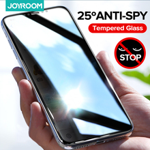 Joyroom temperli cam gizlilik ekran koruyucu iPhone 12 11 Pro Max X XS Max XR Mini Anti casus Film tam kapsama cam