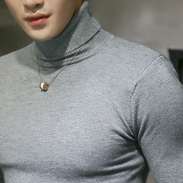 Sexy Knitted Turtleneck Sweater 3