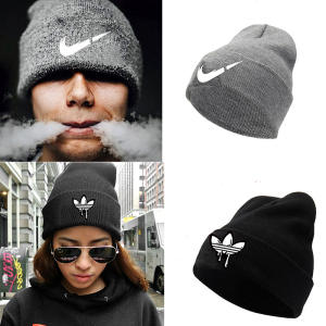 Winter Hat Beanie-Hat Knitted Fashion Women Ladies Thicken for Soft Cap