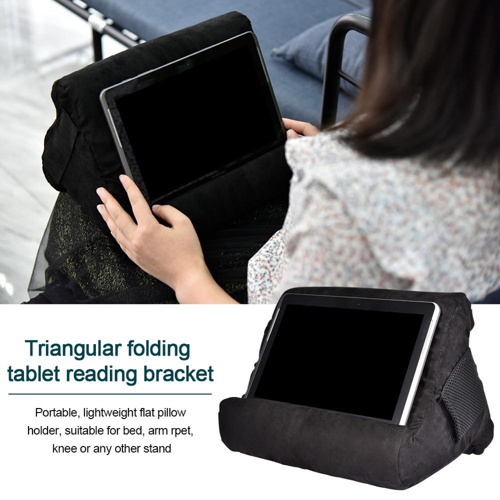 Laptop Holder Tablet Pillow Foam Lapdesk Multifunction Laptop Cooling Pad Tablet Stand Holder Stand Lap Rest Cushion for Ipad image