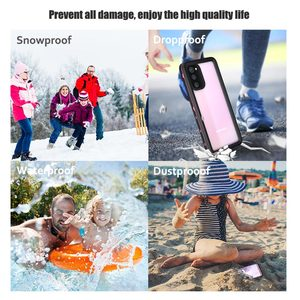 Image 5 - Shellbox IP68 Waterproof Diving Case For Samsung Galaxy S20 S20+ Coque Swim Dust proof Full Cover For Samsung S20 Ultra Shell