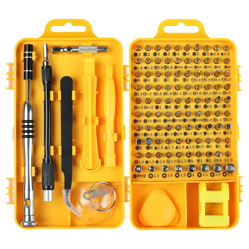 New Multi-Function High Precision Screwdriver Set Disassemble For Phone Computer Watch Electronic Repair Home Tools Kit