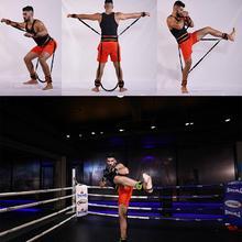 Боксерские баскетбольные тренировочные тренажеры, фитнес-Эспандеры, набор для рук, ног, сила и ловкость, оборудование для тренировки 110 см 4