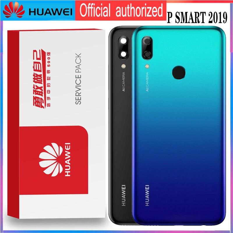 Original For Huawei P Smart 2019 POT LX3 POT L23 POT LX1 POT L21 POT LX2 Back Battery Cover  Housing  partsMobile Phone Housings & Frames   -