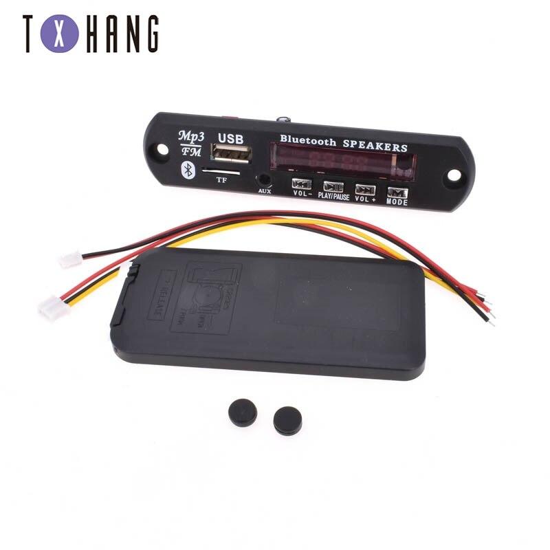 Wireless Bluetooth 12V MP3 WMA Decoder Board Audio Module USB TF Radio For Car belt