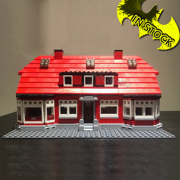 In Stock Creator Series Ole Kirk's House 4000007 Building Block 910Pcs Bricks Toy Gifts Street View 17006 Compatible LIT2009