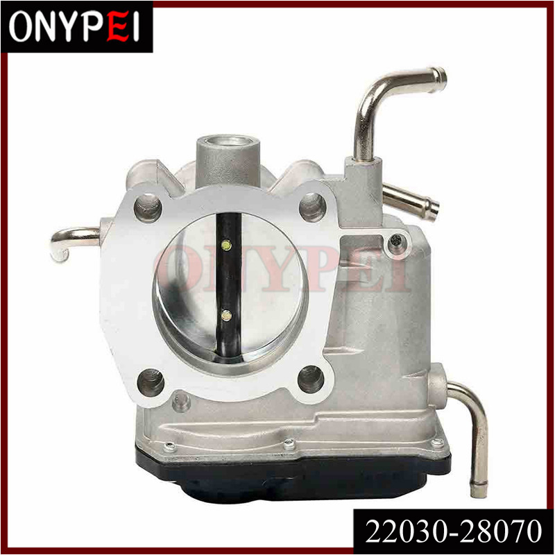 22030 28070 22030 28070 22030 0H031 22030 0H030 Throttle Body Assy For TOYOTA CAMRY RAV4 SCION MATRIX 2.4L 2AZFE 2203028070