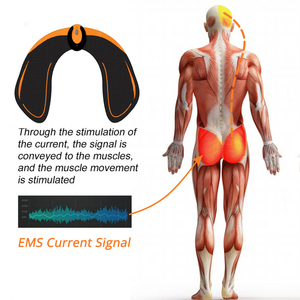 Image 4 - EMS Drahtlose Hüften Trainer Remote USB Elektrische Bauch Muscle Stimulator Fitness Gesäß Butt Toner Abnehmen Lifting Massager
