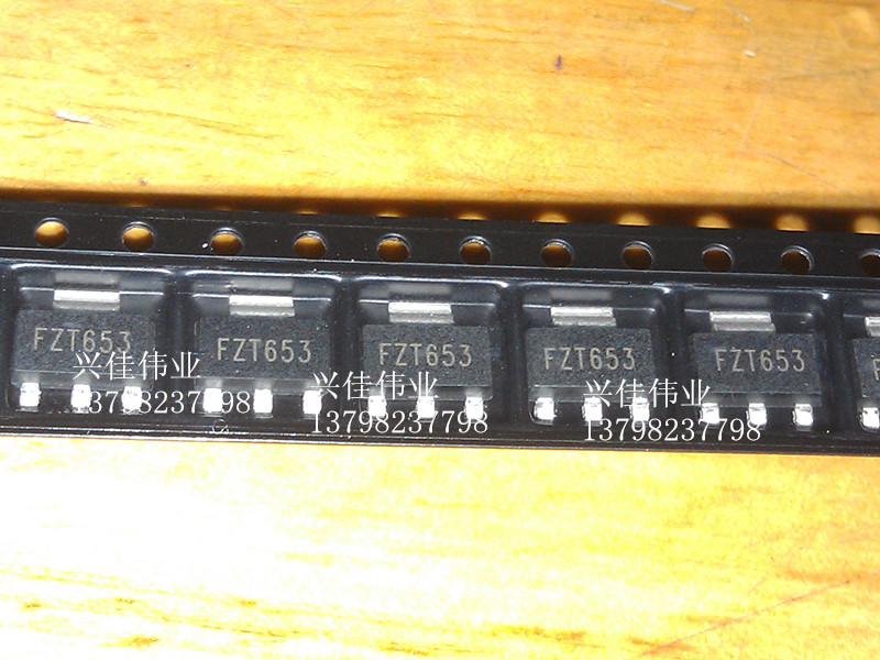Оригинал 5 шт./FZT653 FZT653TA SOT223 NPN