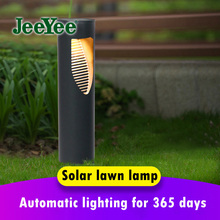 Lawn Lamp Bollards-Light Landscape Led Garden Courtyard Outdoor Villa Solar Waterproof