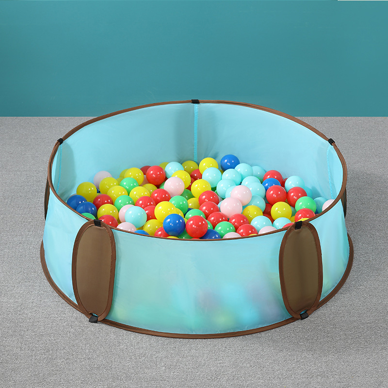 Foldable Infant Ball Pool Shining Ball Pit Balls For Dry Pool Washable Ocean Ball Playpen Toys Folding Fence Kids Room Decor Toy