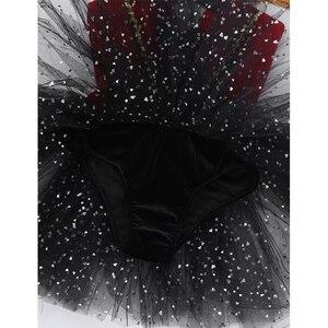 Image 5 - Crianças meninas dia das bruxas ringmaster circo traje borla lantejoulas malha tutu ballet vestido ginástica collant desempenho dança wear