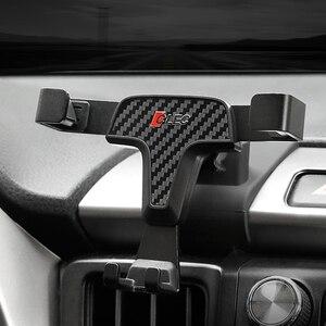 Image 5 - Per Toyota RAV4 2014 2015 2016 2017 2018 Accessori Per Auto Car Air Vent Mount Culla Del Supporto Del Basamento per Cellulare Mobile telefono GPS