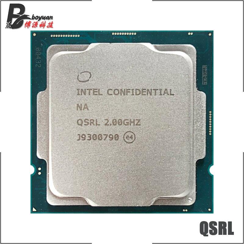 Intel Core i5-10400T es i5 10400T es QSRL 2,0 ГГц шестиядерный двенадцать-нить Процессор процессор L2 = 1,5 м L3 = 12M 35 Вт LGA 1200