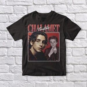 Timothee Chalamet 90 Vintage Unisex Black Tshirt