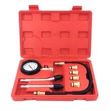 цена на Car Cylinder Pressure Gauge Petrol Engine Pressure Gauge Tester Kit Compression Leakage Diagnostic Tool