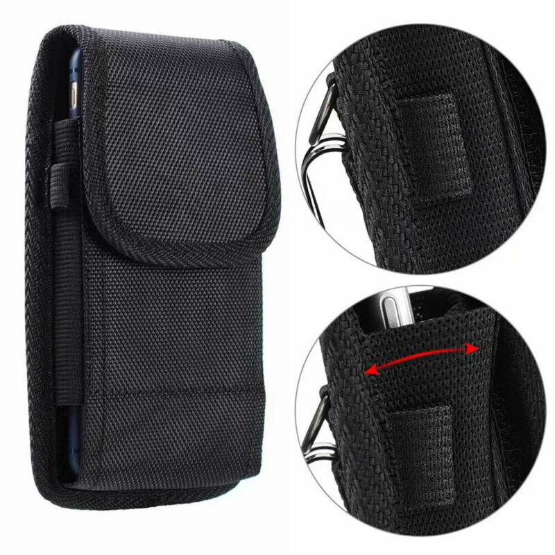 New Fashion Cell Phones Horizontal Carrying Vertical Pouch Case Cover With Belt Clip Holster