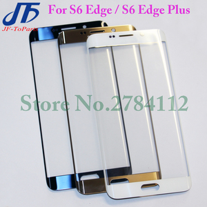 Image 2 - 10Pcs Touch Screen panel for Samsung Galaxy S7 Edge G935 / S6 Edge G925 / S6 edge plus G928 s7edge Front LCD Outer Glass Lens