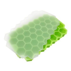 Image 2 - Home Kitchen Ice Cube Tray Summer Honeycomb Shape Ice Cube 37 Cubes Ice Tray Ice Cube Mold Storage Containers Drinks Molds