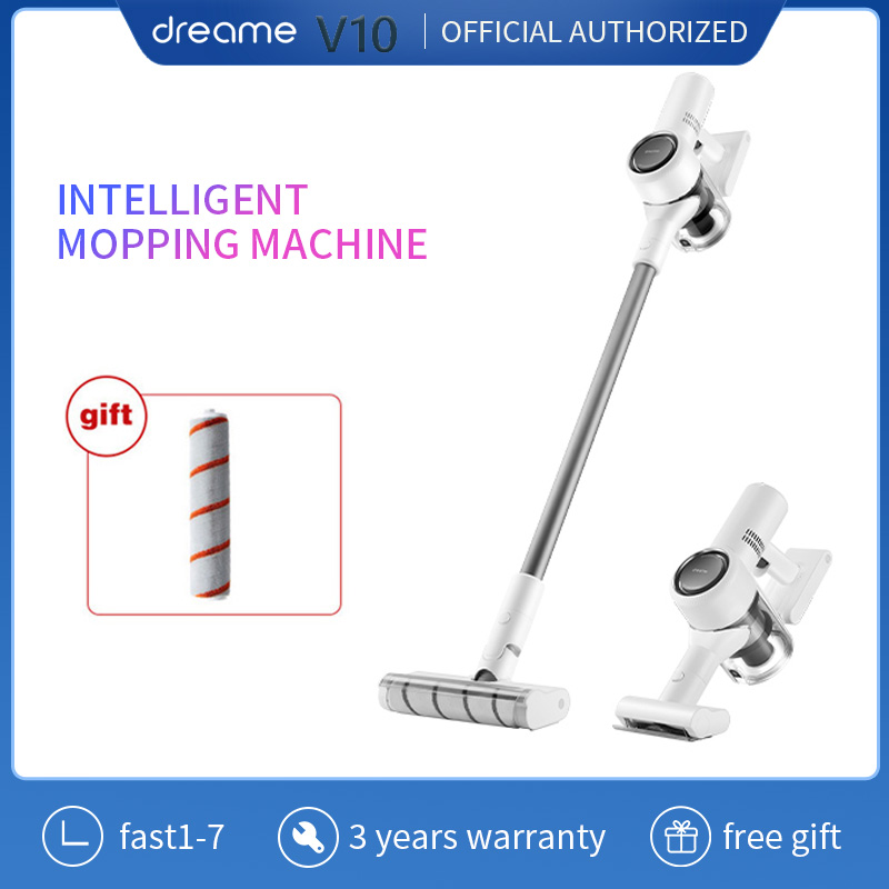 Dreame V10 Handheld Vacuum Cleaner For Home Xiaomi Mijia  Portable Wireless Cordless Carpet Update V9P Dust Collector Sweep Mop