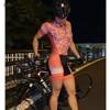 Respirável mulheres jumpsuit Triathlon skinsuit ciclismo roupas de ciclismo ciclismo skinsuit manga curta sportswear ao ar livre das mulheres 12