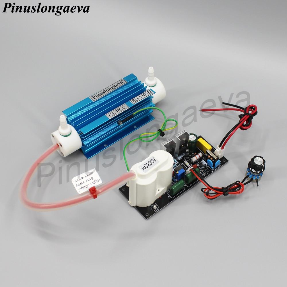 Pinuslongaeva 3g/h 3grams Quartz tube type ozone generator Kit kitchen ozonizer ozone 3g oil ozonator AC220V AC110V DC12V DC24V title=