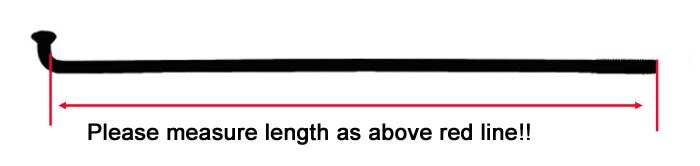 Диаметр 3,5 мм J-изгиб тела цилиндра освещения Щепка Цвет спицы мотоцикла 304 Нержавеющая сталь Материал равных спицы равного диаметра
