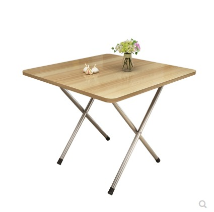 Folding Table Standing Side To