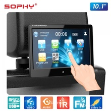 Nuovo! Touch Screen 10.1*1024 600 M del lettore multimediale MP4 MP5 del Monitor montato poggiatesta automobilistico a 1028 pollici dell'automobile