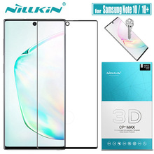 for Samsung Note 10 Plus 5G Glass Screen Protector Nillkin 3D Full Cover Glue Safety Tempered Glass for Galaxy Note 10+ Note10