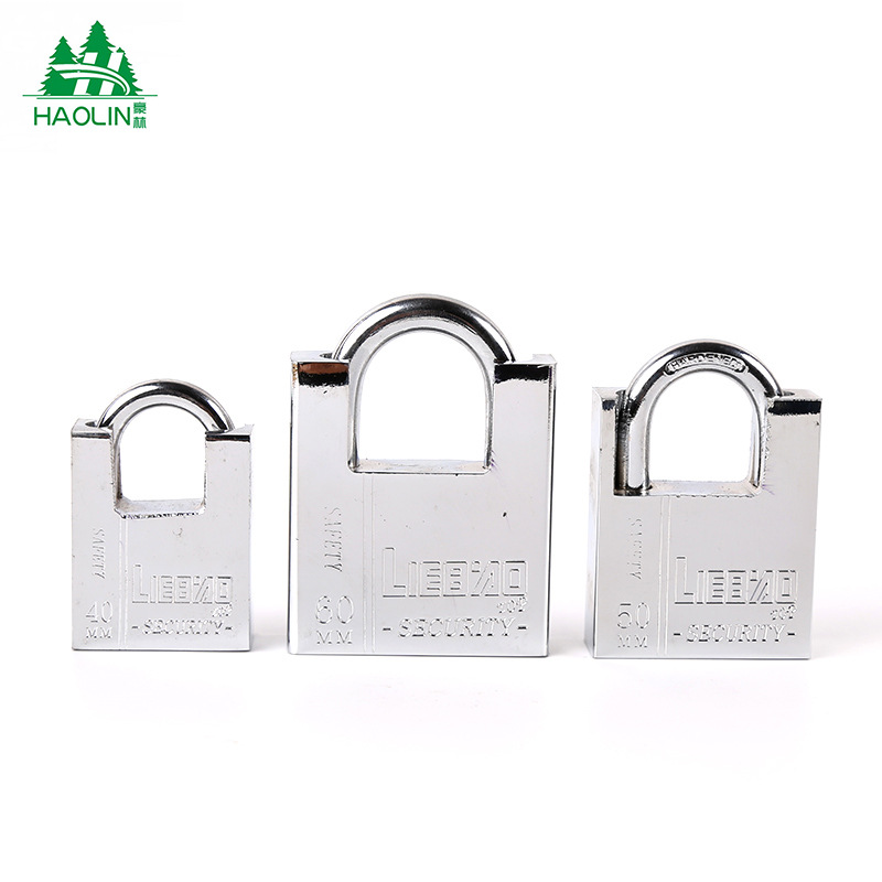 [Manufacturers Direct Selling] Package Beam Anti-Theft Lock Square Leaf Half A Pack Of Beam Pillar Padlock Meter Box Lock Leaf B