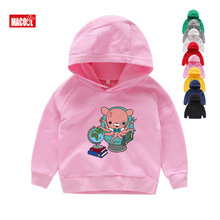 FUNNY Octonauts Print Hoodies Winter Cartoon Printed Sweatshirts Boys/ Girls 2 4 6 8 T Long Sleeves Pink