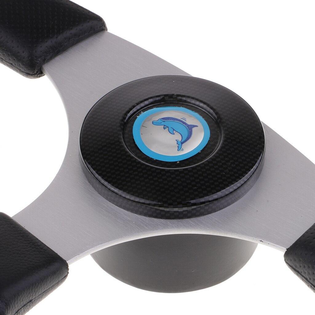 13-1/2 Inch Classic Nostalgia Style Steering Wheel Black Foam Grip 3 Spoke