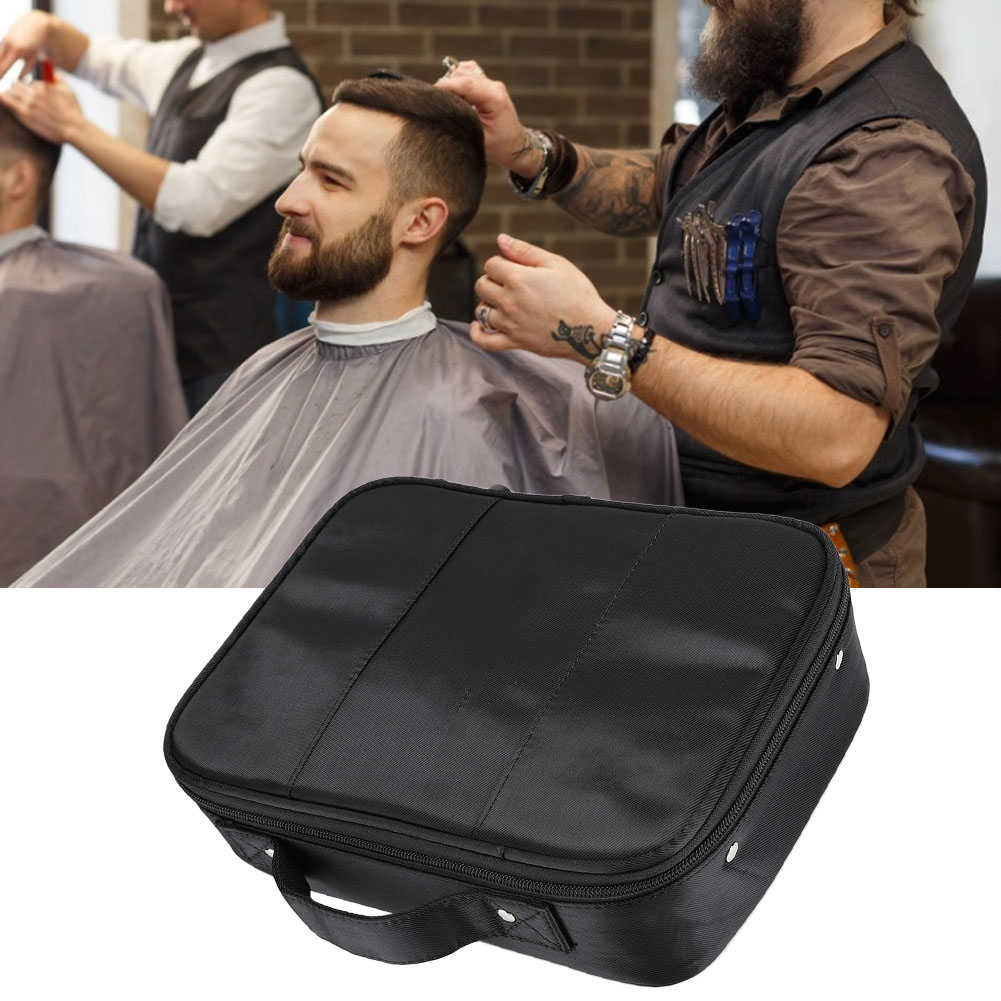 Hairdressing Tool Storage Bag Portable Storage Bags Scissors Comb Hair Clipper Organizer Storage Case For Hair Stylist