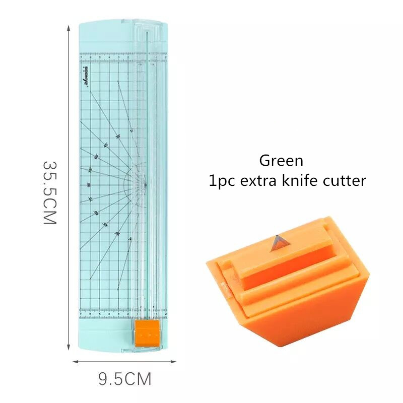 Sharkbang Desktop Photo Paper Cutter A3 A4 Manual Paper Jam Photo Film Cutting Machine Knife Blade Art Trimmer Craft Tool 6