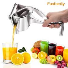 Espremedor de suco manual da liga de alumínio mão pressão espremedor romã laranja limão açúcar cana suco cozinha ferramenta frutas