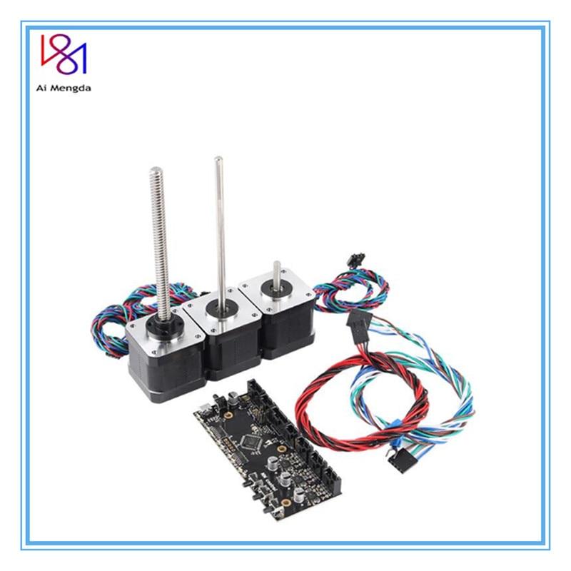 Prusa I3 MK3 Multi Materials 2.0 Board MMU2 Board With Power Signal Wire And Motors Kit Prusa I3 MMU2.0 Lead Screw Motor Kit