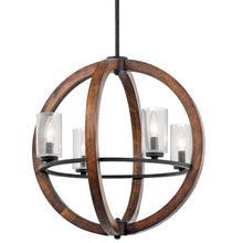Lámpara de techo de cristal Vintage con iluminación colgante antigua de araña de globo de madera LED HAIXIANG